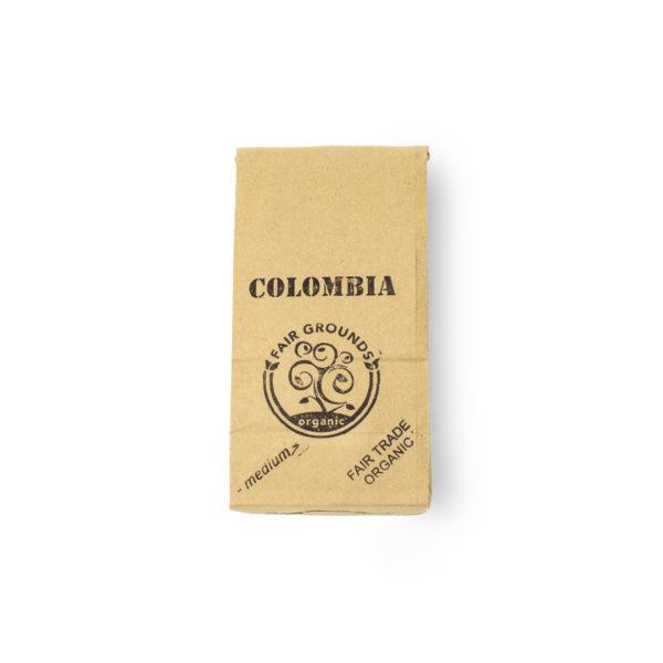 Fair Grounds Organic Fair Trade Coffee Roastery Etobicoke Mississauga-Colombia-half pound bag new